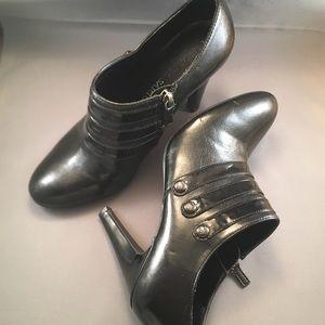 Black Bootie Shoes Franco Sarto